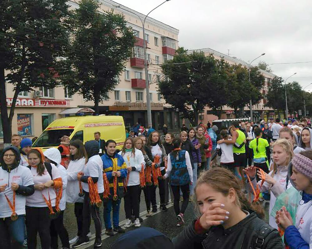 Студенты и преподаватели КОР ПК на Пермском международном марафоне